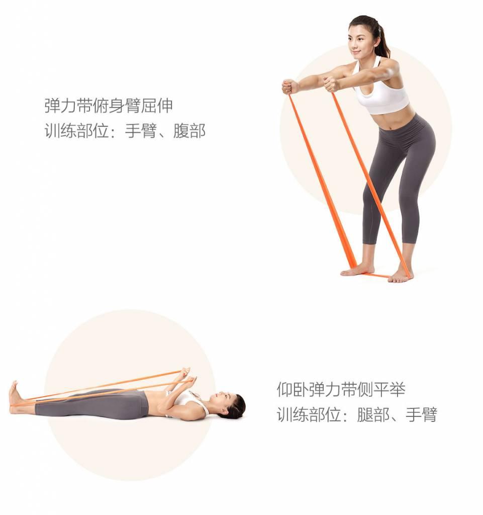 Yunmai elastic band - Use