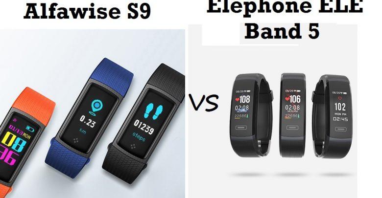 Xiaomi Mi Band 3 Alternatives - Elephone ELE Band 5 Vs