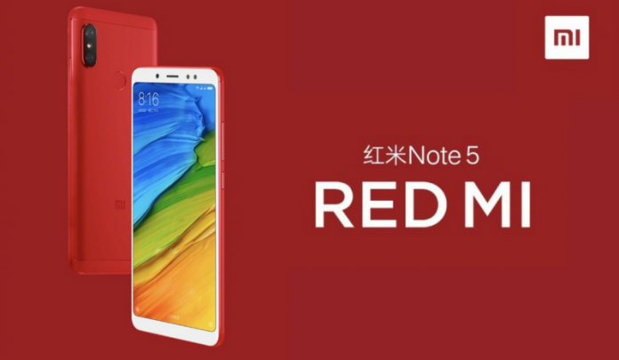 Image result for redmi note 5 red