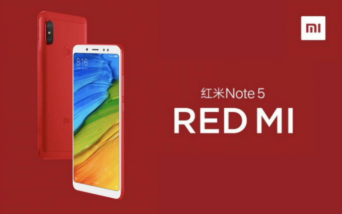 Xiaomi Officially Launched Redmi Note 5 Red Flame Edition At 1399 Yuan