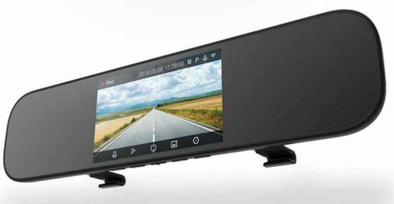 Xiaomi Mijia 5 Inch Touchscreen Smart Rearview Mirror Car