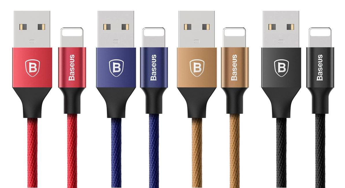 Baseus Yiven 8 Pin Data Charging Braided Cable - Must Have Smartphone Accessories That You Can Get For Cheap