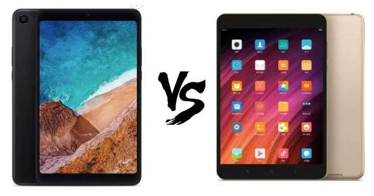 Kết quả hình ảnh cho Xiaomi Mi Pad 4 vs Mi Pad 3