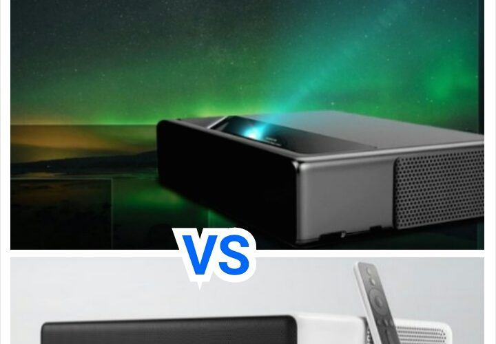 Xiaomi WEMAX 7000 ANSI Lumens VS Xiaomi Mi 5000 ANSI Lumens Ultra Short Throw Laser Projector