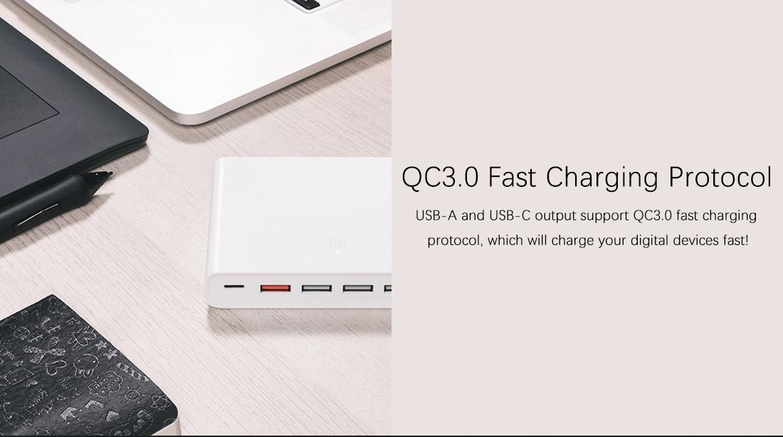 Xiaomi Mi USB-C 60 W QC3.0