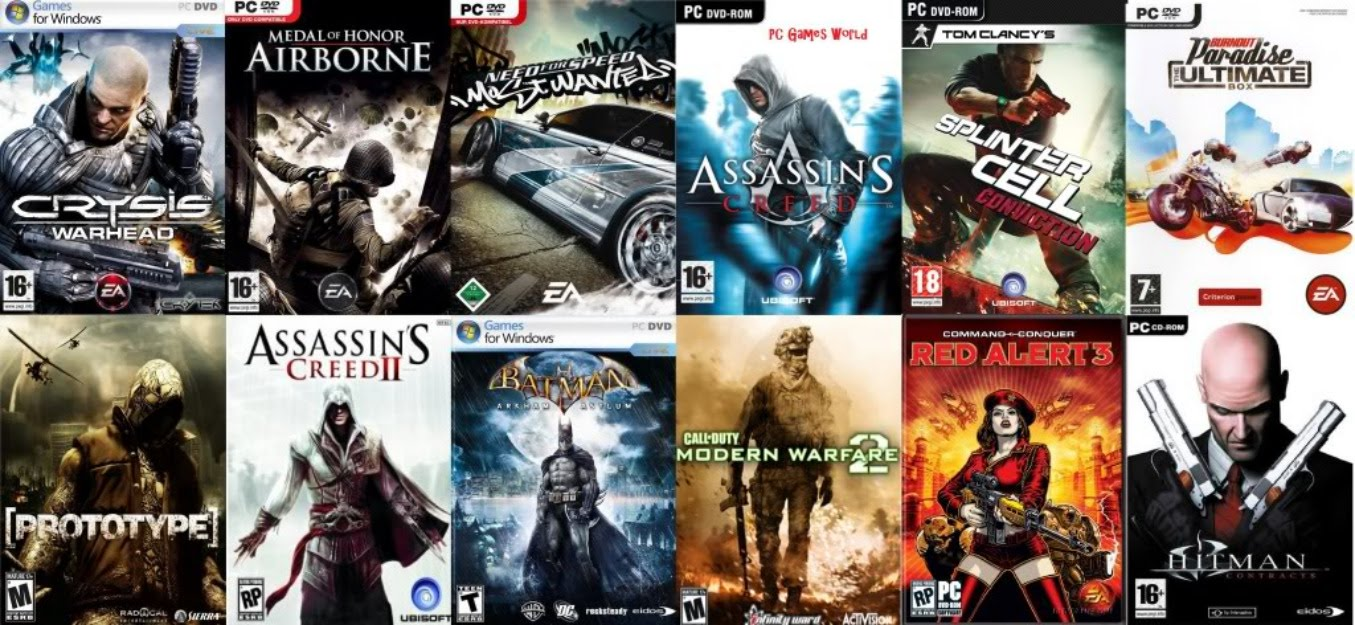 List of games on the computer. Best computer games 27