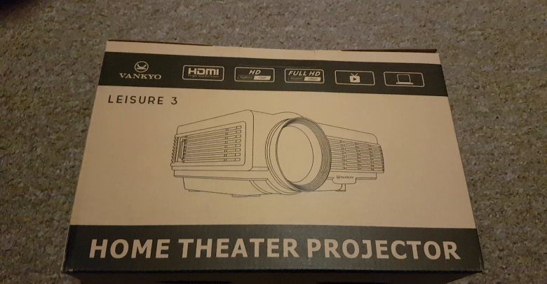 Vankyo Leisure 3 Mini Portable Projector