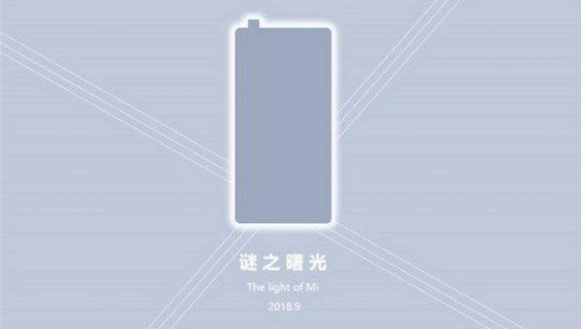 Xiaomi Mi Mix 3 Teaser