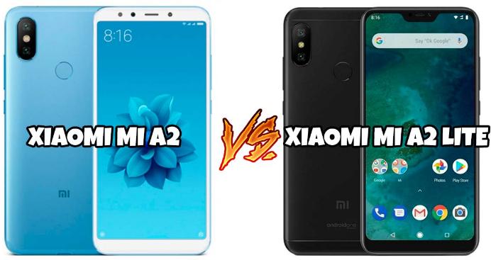 Xiaomi Mi A2 Vs Mi A2 Lite Differences Similarities
