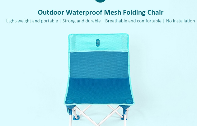 Xiaomi Zaofeng Outdoor Folding Chair Offered For 20 02