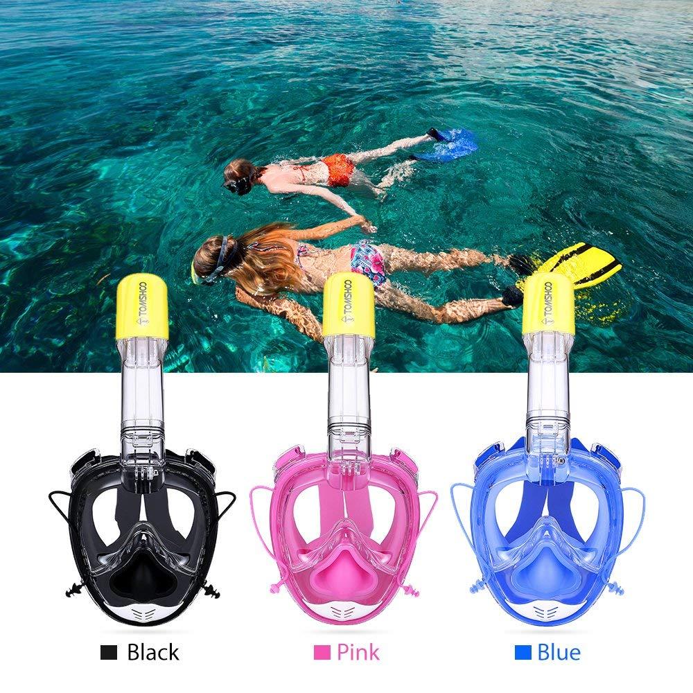 TOMSHOO Snorkel Mask