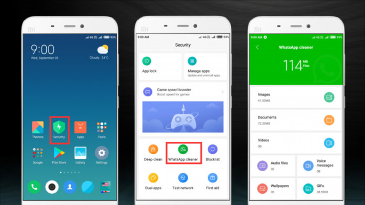 Xiaomi phones now have the WhatsApp Cleaner feature thanks to MIUI 10