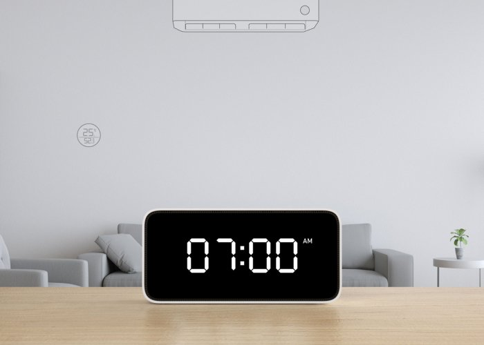 The Xiaomi Xiao Ai Smart Alarm clock