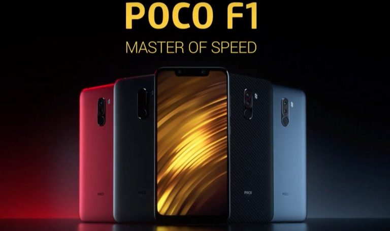 The Xiaomi Poco F1 Is Splash Resistant And Supports Quick