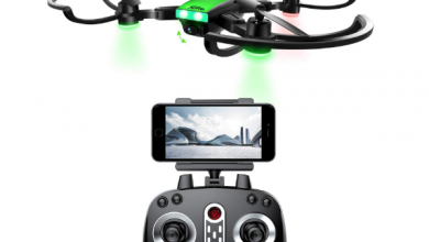 Becrot Foldable FPV RC Drone