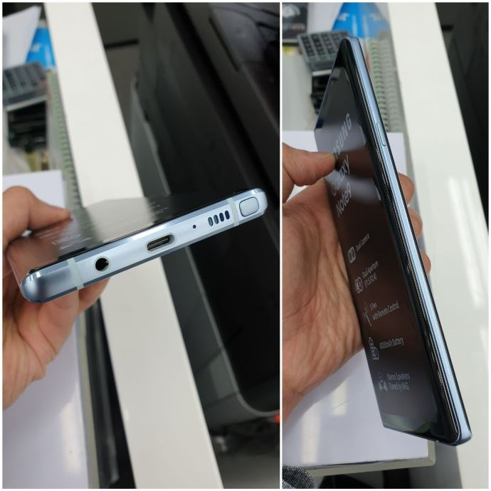 Glaxay Note 9 Silver Edition