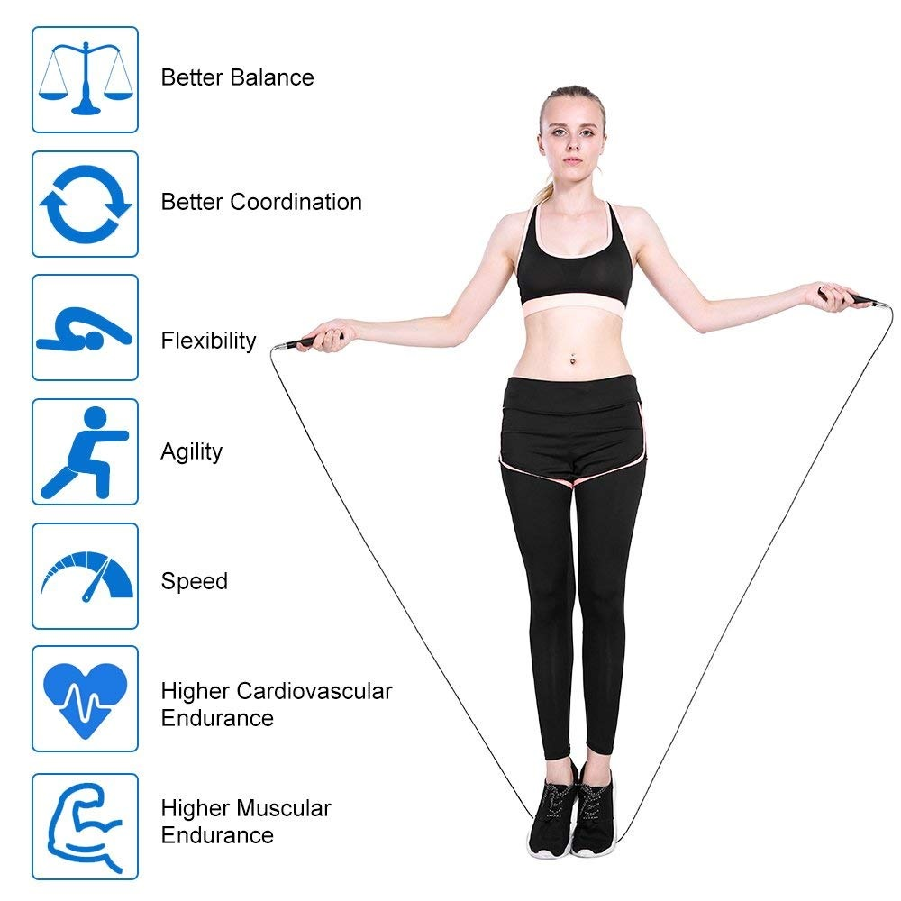TOMSHOO 3M Jump Rope Benefits