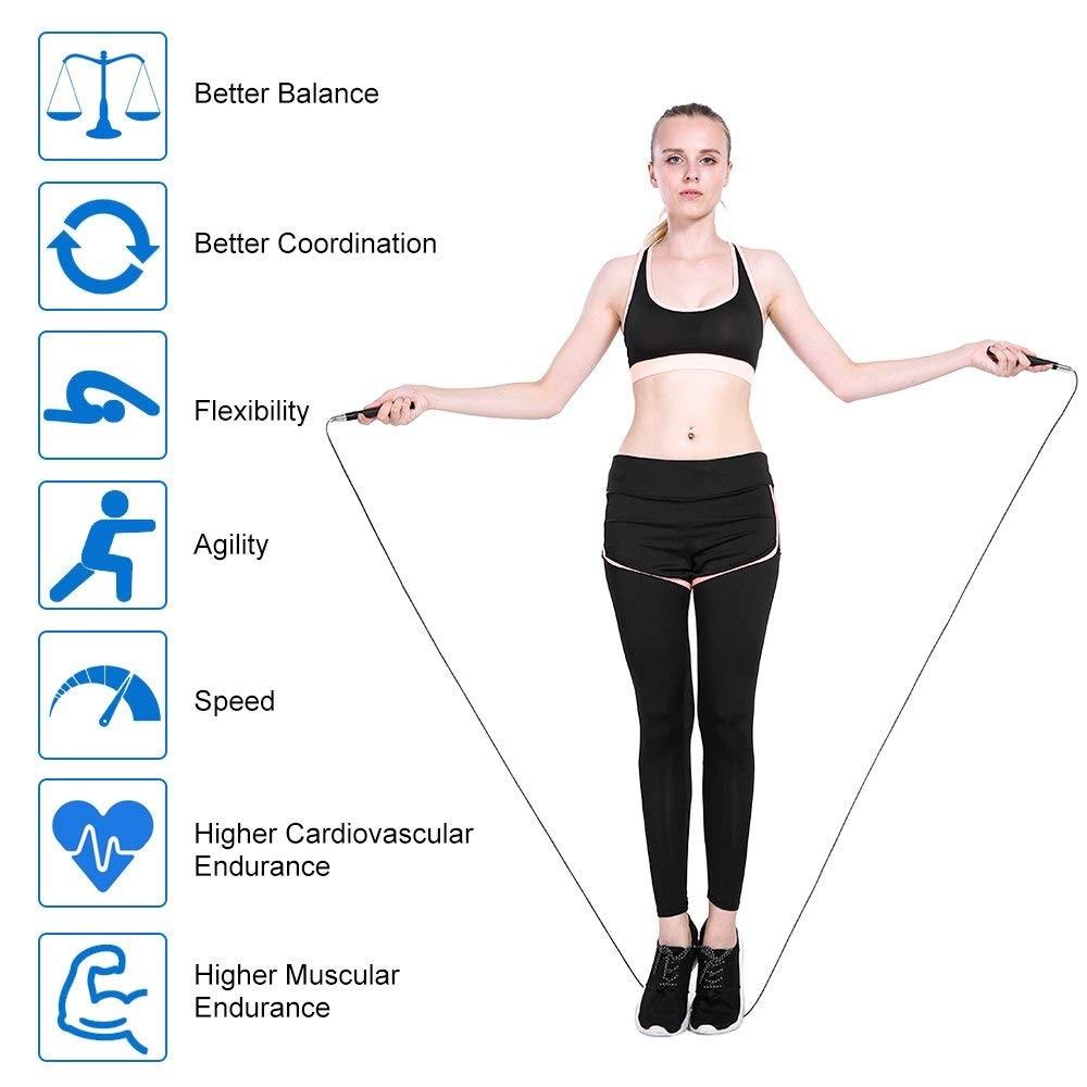 TOMSHOO 3M Jump Rope Benefits