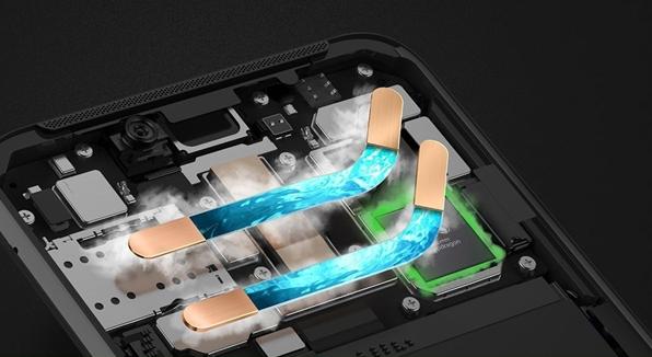 Xiaomi Black Shark 2 Helo - sistema de refrigeración