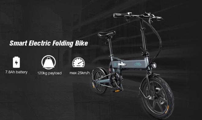 Grab The FIIDO D2 Folding Moped Electric Bike E-bike For $459.00