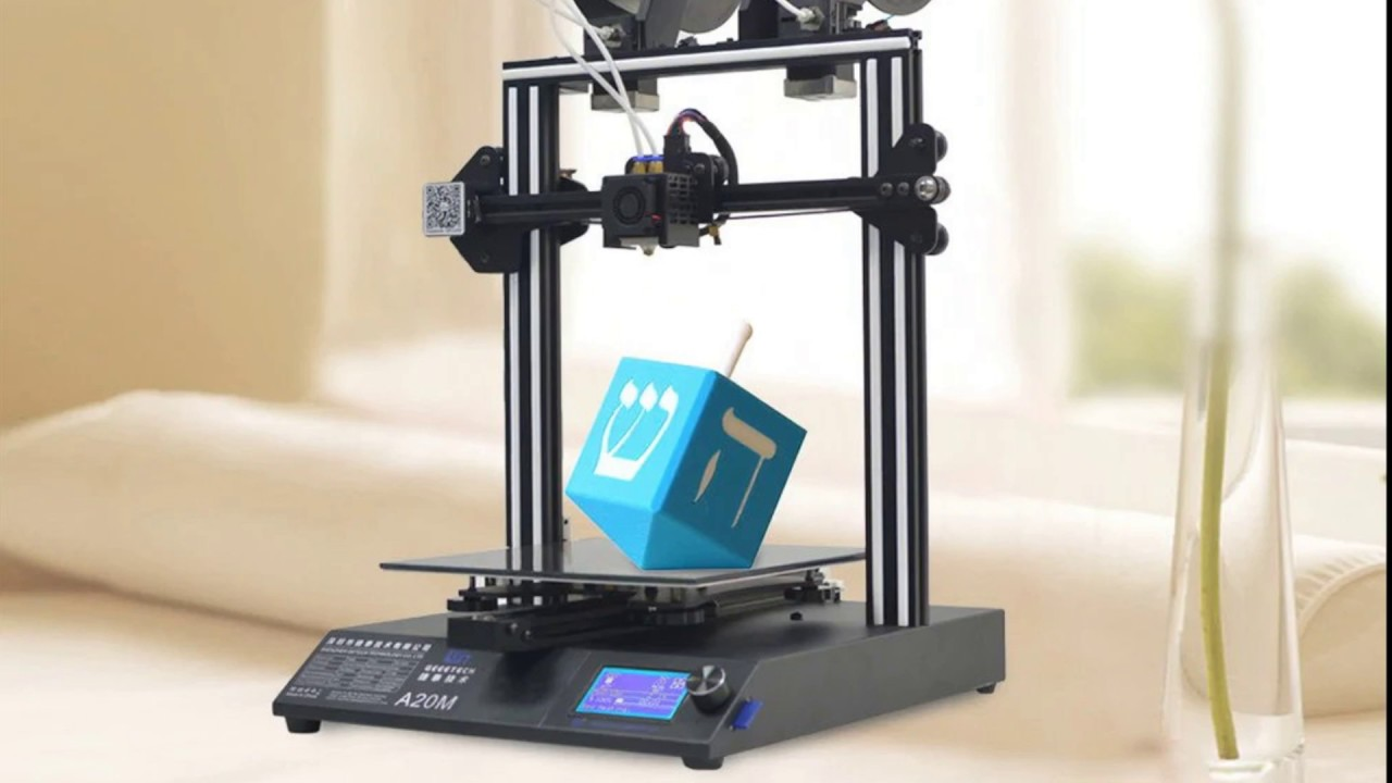 Geeetech A20m Review With Modularized Extruder Wiring