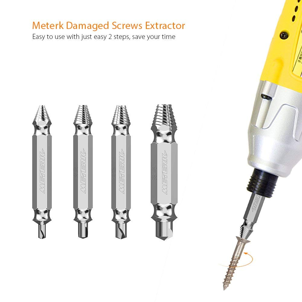 Meterk damaged screw extractors Meterk