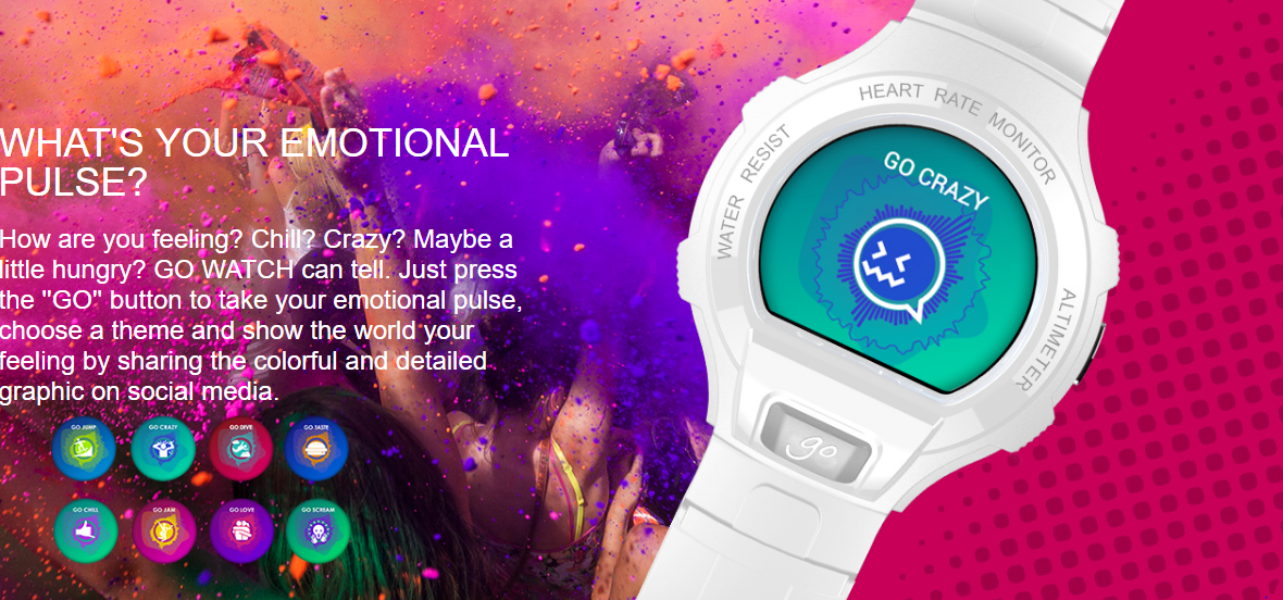 Alcatel OneTouch Go Smart Watch