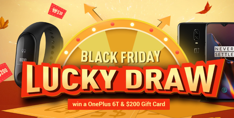 Geekbuying Black Friday Lucky Draw Featured