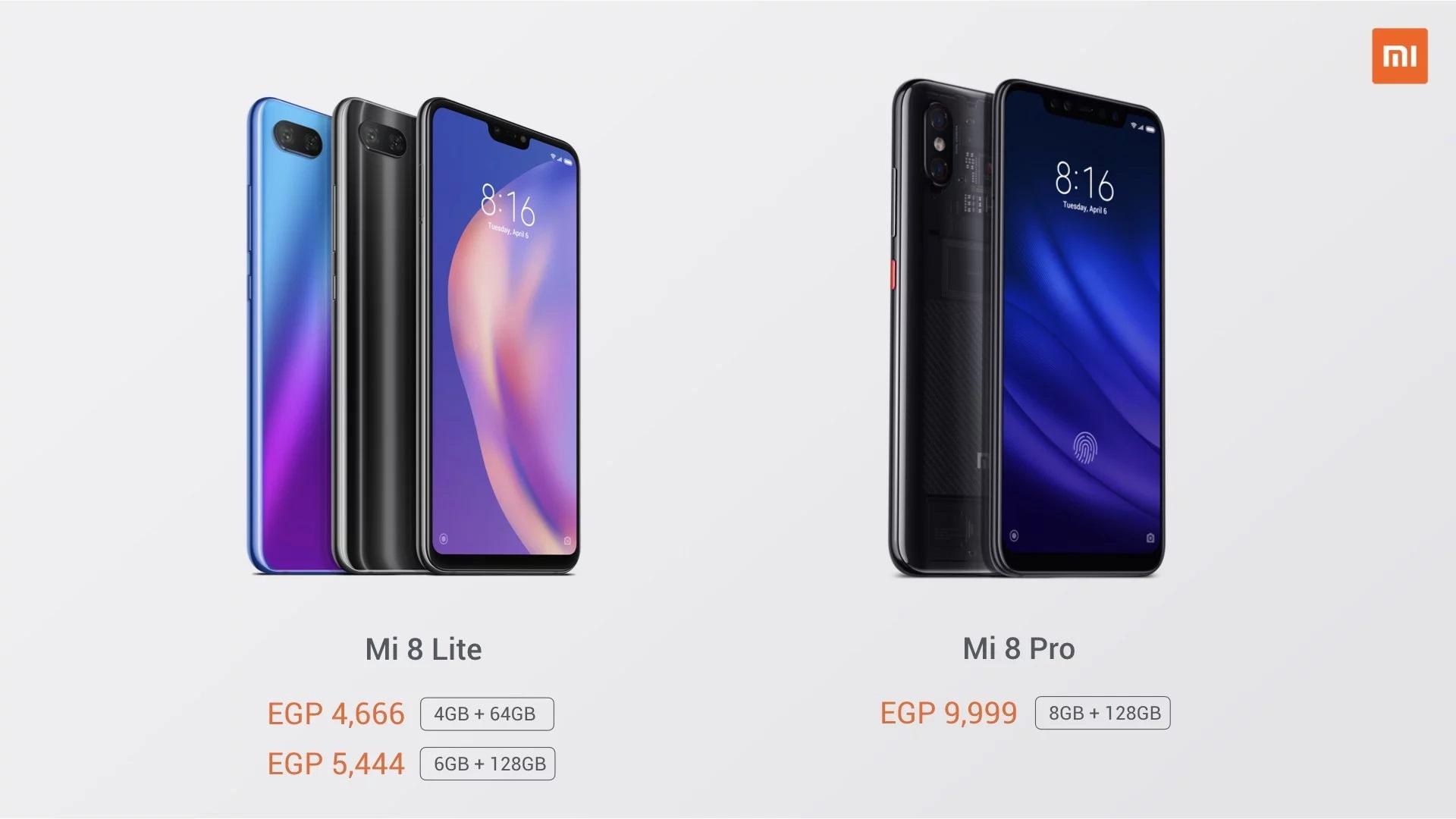 Mi Store in Egypt with Mi 8 Pro