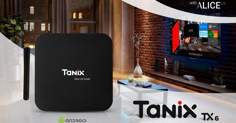 Tanix TX6 TV Box with Allwinner H6 SoC, and 4 GB of RAM For