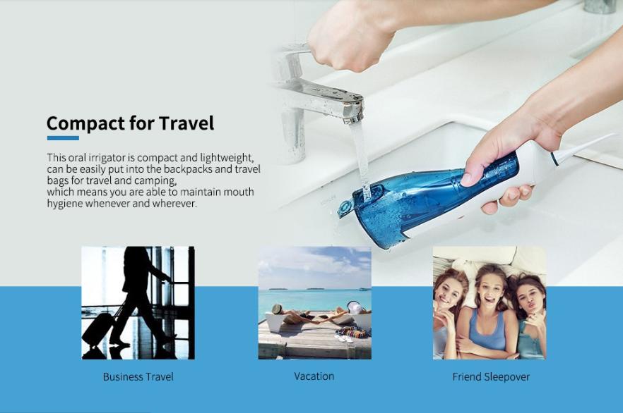 Alfawise Handheld Rechargeable Oral Irrigator