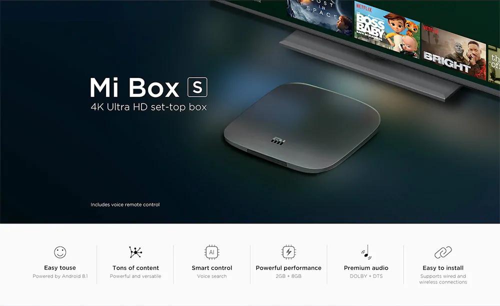 Xiaomi Mi Box S - Gearvita