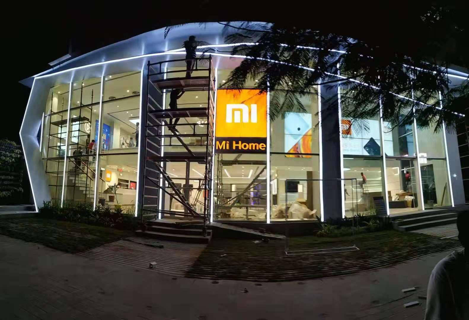 xiaomi has managed to open its largest mi store in india. Black Bedroom Furniture Sets. Home Design Ideas