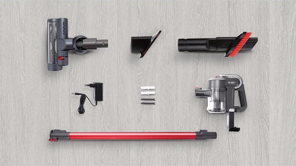 Aspirador inalámbrico portátil Alfawise AR182BLDC