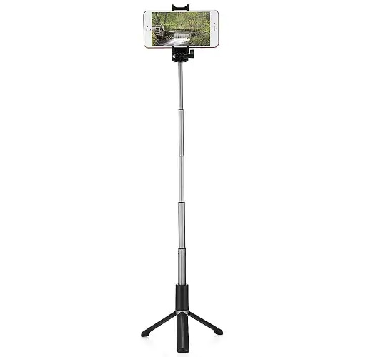 Alfawise WF808 Aluminum Alloy Private Mode Tripod Selfie Stick Combo