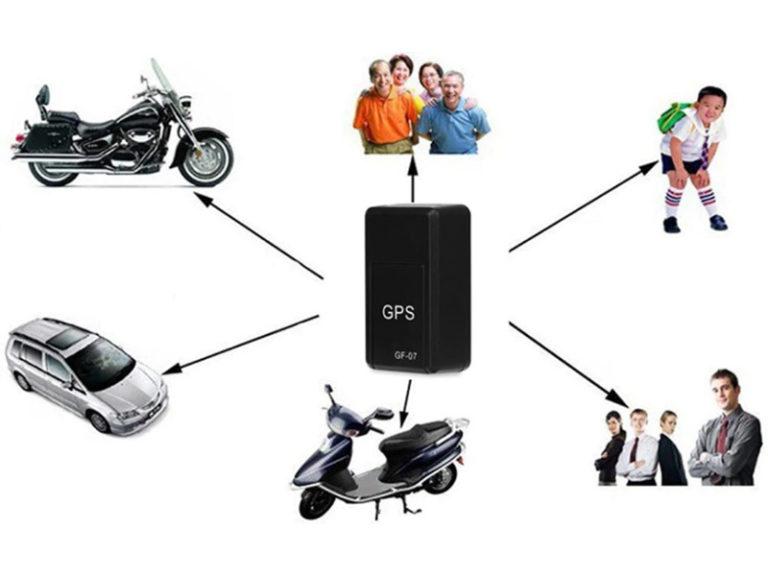 Mini localizador GPS magnético GF-07
