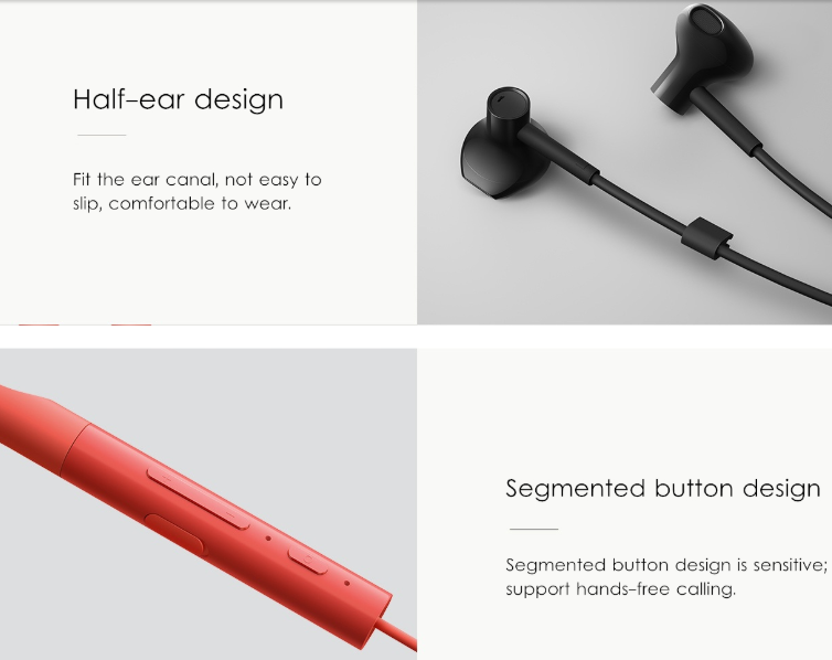 Xiaomi Youth Version Neckband Bluetooth Earphone For 39