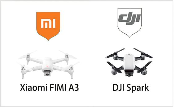 Xiaomi FIMI A3 vs  DJI Spark: Check Out The Two Beginner