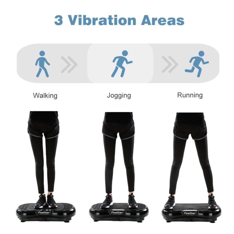 Finether Vibration Plate Vibration Platform $125 99
