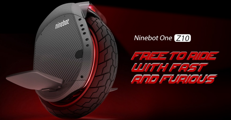 Xiaomi Ninebot One Z10 Electric Balance Unicycle offered for