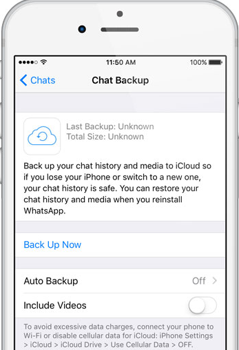 restaurar backup whatsapp do google drive no iphone
