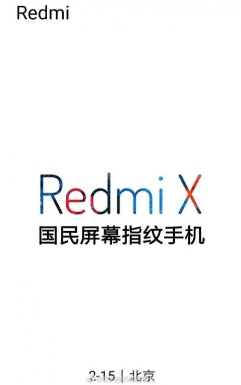 Redmi X Poster