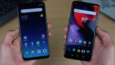Compare OnePlus 6 and Xiaomi Mi 8 comparison
