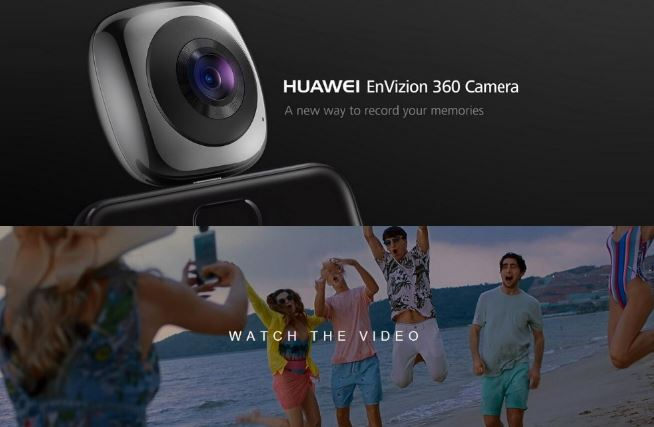HUAWEI EnVizion 360 Camera Offered For $116 99