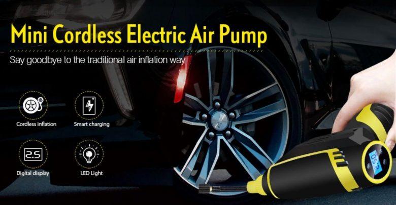 Grab The Cordless Handheld Mini Electric Car Air Pump For 39 99