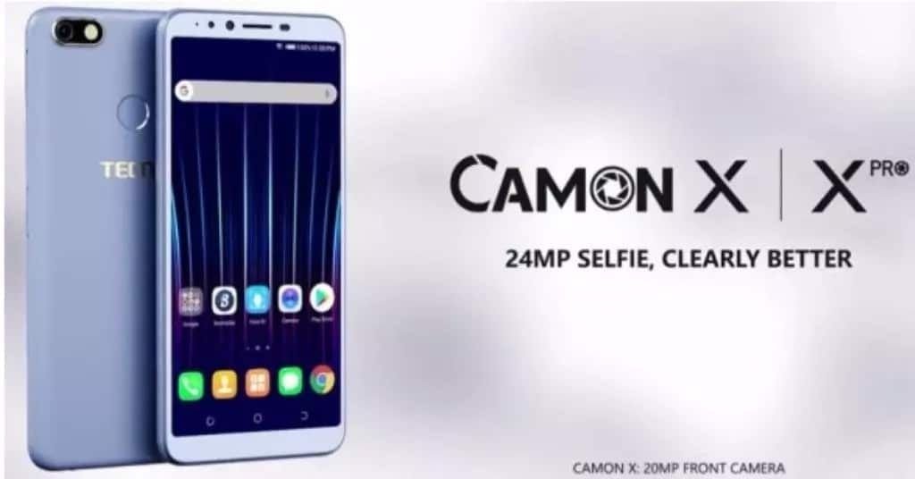 Tecno Camon X and X Pro specs and price in Ghana - XiaomiToday