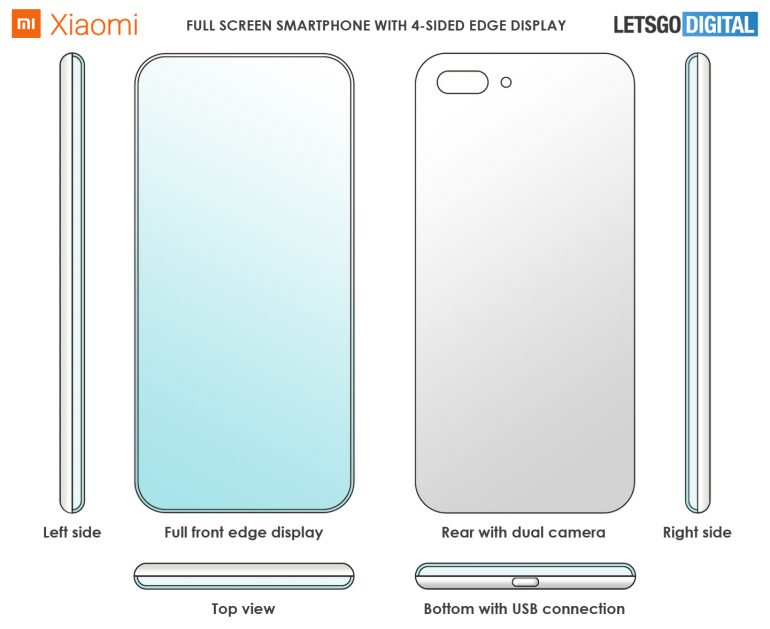 Xiaomi - 4 sided Smartphone Design