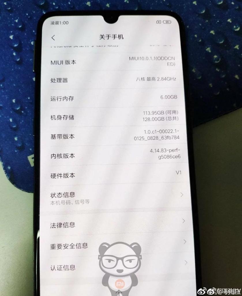 Xiaomi Mi 9 Hardware