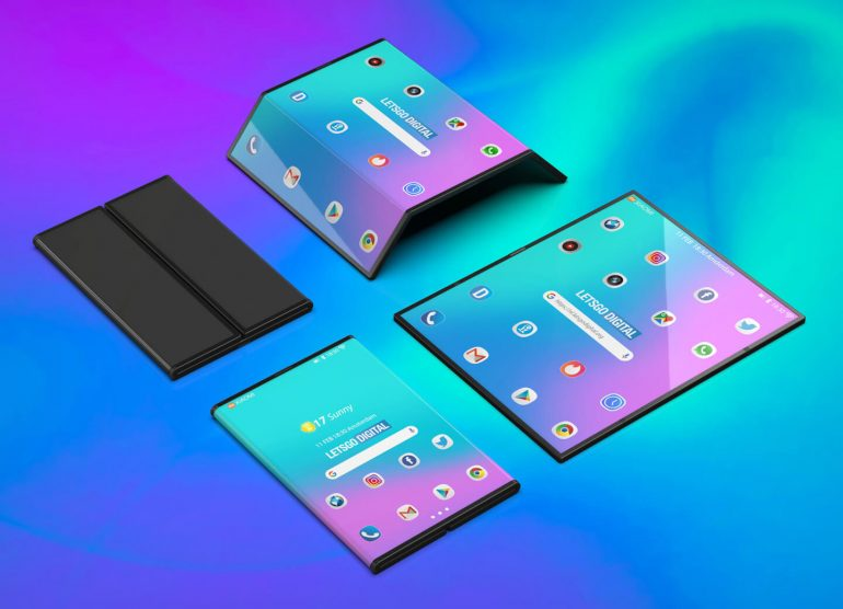 Xiaomi foldable phone Design