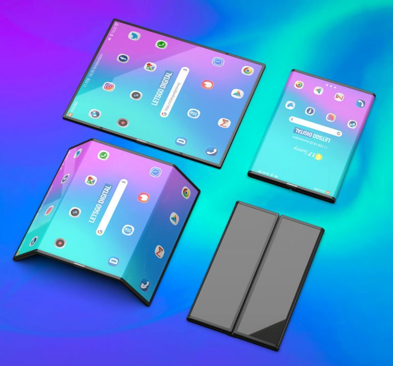 Xiaomi foldable phone render